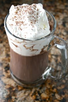 Nutella Hot Chocolate | The Hungry Housewife