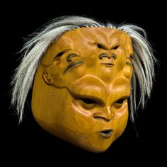 The Wind Mask by Ken McNeil (Tahltan, Tlingit, Nisga'a) Cool Masks, Awesome Masks, Ceramic Mask, Tlingit, Native Design, Masks Art, American Indian Art, Aboriginal Art, Ancient Artifacts