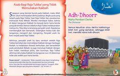 Kisah Asma'ul Husna Adh-Dhoorr Kids Story Books, Stories For Kids, Asma Allah, Learn Islam, Islamic Quotes, Kids And Parenting, Quran, Muslim, Education