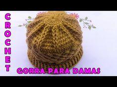 2 en 1 Cuello y gorro de ganchillo a la vez. Scarf and crochet hat at the same time. Bonnet Crochet, Crochet Beanie, Crochet Baby, Knitted Hats, Crochet Videos, Ear Warmers, Crochet Crafts, Baby Patterns, Baby Hats