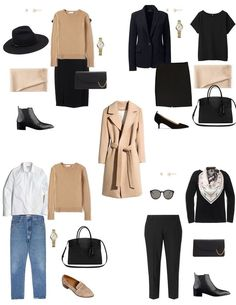 The Ultimate Holiday Gift Guide – Iconic Style Inc. Capsule Wardrobe Mom, Capsule Outfits, Fashion Capsule, Travel Wardrobe, Mode Outfits, Work Wardrobe Essentials, Capsule Wardrobe How To Build A, Minimalist Wardrobe Essentials, Staple Wardrobe Pieces