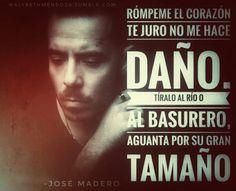 Jose madero, pepe madero, ser supremo, carmesi, noche, frases de amor, canciones, frases de jose madero