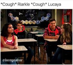 Lucas and maya and Riley and  Farckle