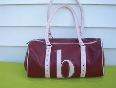 Vintage Pretty and Pink Letter B Handbag in by touchofclass123