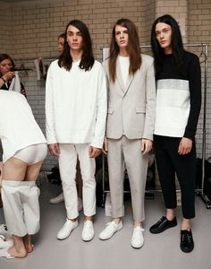 Matthew Miller, LC:M, 18/06/13   i-D Online i really really realllllllly love their hair even though i am a girl.