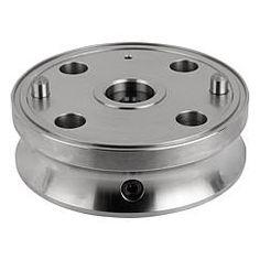 Étau de serrage de forme pour pince de serrage : permet de positionner des pinces de serrage pour bridage extérieur comme intérieur // Adapter for collet // REF 03167