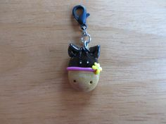Horse Polymer Clay Charm Clip On Zipper pull in by ColorfulClay, $4.00