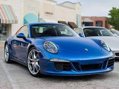 Blue Porsche 911 Carrera S (Photo by Jim Lanter) Porsche DFW Cars & Coffee #MavPCA #PCA #Porsche #Porsche911 #Porsche911CarreraS