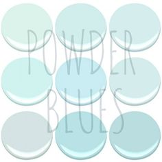 Now Trending Powder Blue Light Paintswhite