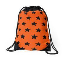 Glow orange Drawstring Bag
