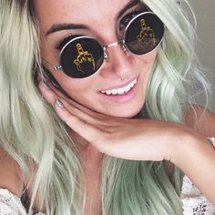 Cheap Ray Ban Sunglasses Sale, Ray Ban Outlet Online Store : - Lens Types Frame Types Collections Shop By Model Sunglasses 2016, Ray Ban Sunglasses Outlet, Ray Ban Outlet, Round Sunglasses, Color Blind Glasses, Cheap Ray Bans, Style Icons, Celebrity Style, Casual Outfits