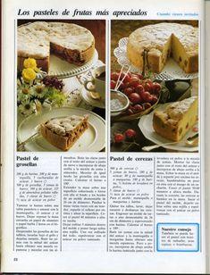 El gran libro de la reposteria everest Baking Recipes, Camembert Cheese, Deserts, Yummy Food, Bread, Slide, Cooking, Ancient Recipes, Tailgate Desserts