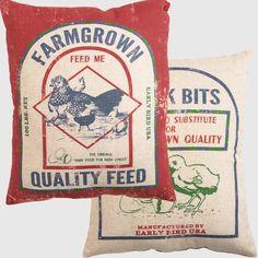Farmgrown Grain Sack Pillow