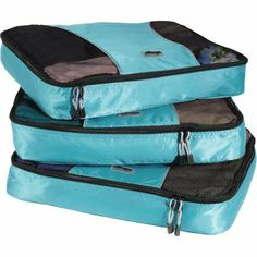 eBags Large Packing Cubes - Set - good for traveling out of a backpack! f4b886d51d31d