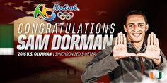 Dorman to Represent Team USA at 2016 Rio Olympics - University of Miami Hurricanes Official Athletic Site