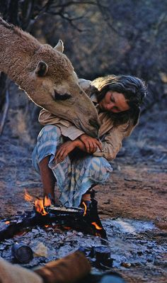 "Robyn Davidson, the Australian writer best known for her book ""Tracks"", about a 1 700-mile trek across the deserts of west Australia using camels. Her career of travelling and writing about her travels has spanned more than 30 years."