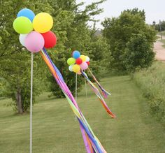 A very creative idea for a child's birthday party