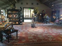 Mike just got back from Napa and had to share this photo. The Francis Ford Coppola winery's retail shop had a custom made 30'x30' mamluk reproduction. BEAUTIFUL!!