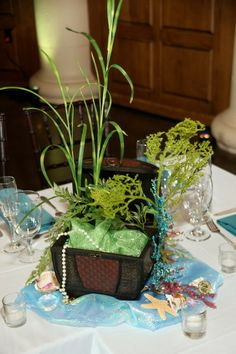 Treasure Chest Centerpiece