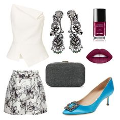 """""""136"""" by robertasad ❤ liked on Polyvore featuring Reiss, Roland Mouret, Ayala Bar, Manolo Blahnik, Boohoo and Chanel"""