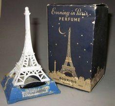 bourjois perfume bottle Eiffel tower