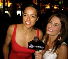 Michelle Rodriguez, Lynn Maggio, Captain Paul Watson Event, Cannes Film Festival 2012 by Real TV Films, via Flickr