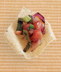 Grilled Vegetable Salsa Recipe
