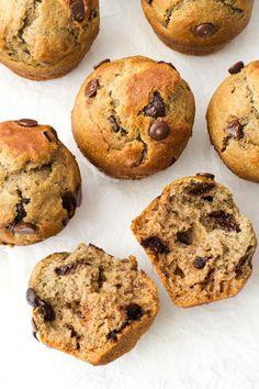 Simple Vegan Chocolate Chip Muffins   http://simpleveganblog.com/simple-vegan-chocolate-chip-muffins/