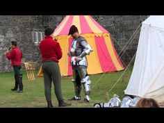 Grand Medieval Joust - Arming the Knights