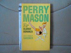 Perry Mason The Case of the Blonde Bonanza (1964) Erle Stanley Gardner PB