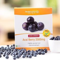 Looking to help support your healthy weight loss efforts? Try Acai Berries, they could also promote healthy skin!⠀ ⠀  #Berries #Fruit #Nutrition #Health #Healthy #supplements #healthyliving #lifestyle #cleaneating #weightloss #slimming #vitamins #nutrients