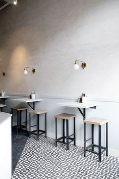 Small space cafe design ideas bakery cafe design restaurant interior design and coffee shop design . Restaurant Interior Design, Modern Interior Design, Kitchen Interior, Restaurant Ideas, Restaurant Seating, Small Restaurant Design, Small Cafe Design, Luxury Restaurant, Modern Decor