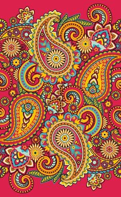 Paisley Pattern from $41.99 | www.wallartprints.com.au #PaisleyPattern
