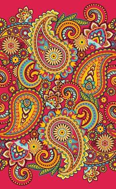 Paisley Pattern from $41.99 | www.wallartprints.com.au #PaisleyPattern
