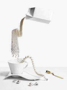 Jewellery For Breakfast. Photographer: Matthew Shave. Departures Magazine.
