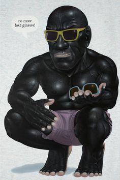 I NYOMAN MASRIADI http://www.widewalls.ch/artist/i-nyoman-masriadi/ #contemporary #art