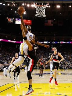 Blog Esportivo do Suíço:  Blazers endurecem, mas Curry e Durant levam Warriors à nova vitória