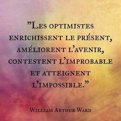 Les optimistes...