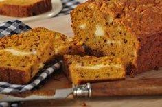 Pumpkin puree is used to make this sweet, moist, and flavorful quick bread. What sets this bread apart is a layer of cream cheese filling. From Joyofbaking.com With Demo Video