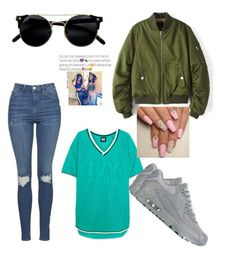 BESTFRIEND WAS HERE  by mylifeasimani on Polyvore featuring polyvore, fashion, style, Ivy Park, Topshop, NIKE and clothing