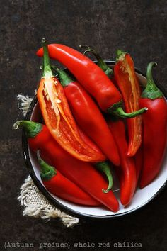 Whole Red Chilies Autumn and then winter is THE time for North India,  possibly the most awaited season for fresh, vibrant local produce.