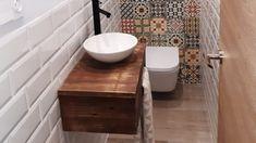 Un mueble de lavabo con palets minimalista – I Love Palets Ideas Para, Toilet, Love, Bathroom, Vanity Tops, Drawers, Minimal Design, Bathrooms, Bathroom Sinks