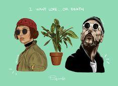 #illustration #digitalart #wacom #coreldraw #mathilda #leon #theprofessional #art I Want Love, Coreldraw, Digital Art, Illustration, Movies, Movie Posters, Illustrations, Films, Film Poster