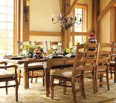 Sumner Extending Table & Wynn Chair Set #potterybarn