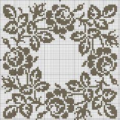 crochet filet pattern - Google Search