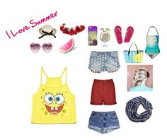 """I Love Summer"" by lunapink on Polyvore"