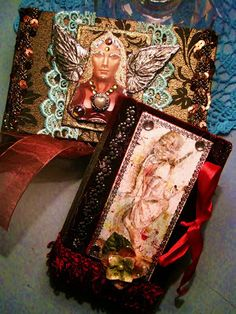 Treasure box by Susanna, Sielunsolinaa.blogspot.com