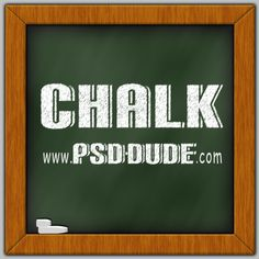 Chalk Photoshop Effect - Photoshop tutorial | PSDDude