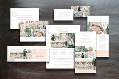 Sale! Marketing Set for Photographer by Bittersweetdesignboutique on Creative Market