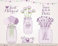 Image result for flowers in jam jar drawing